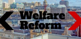 image of glasgow and welfare reform text