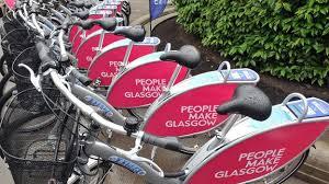 Glasgow Bike Hire Scheme Launches