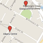 map of albany location