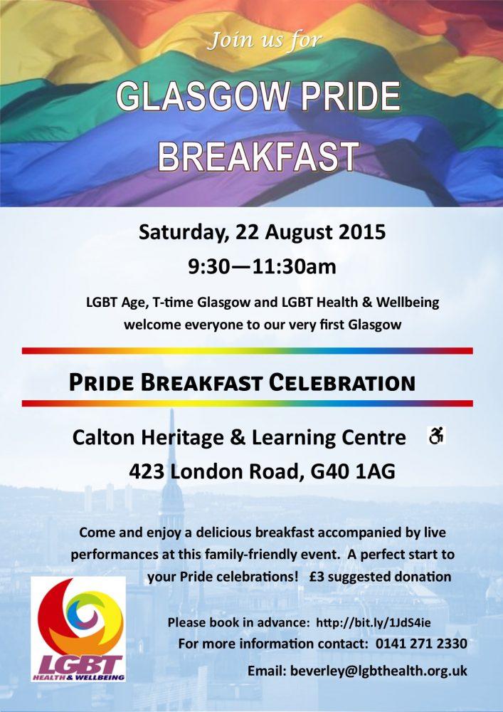 Glasgow Pride Breakfast