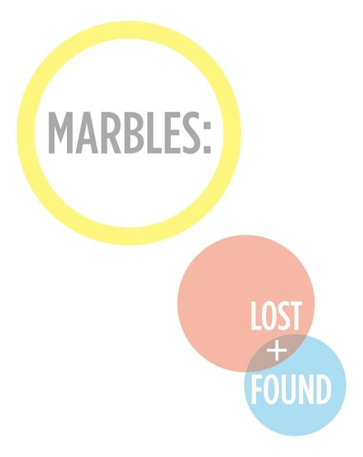 Marbles: Lost and Found (Creative Therapies Training)