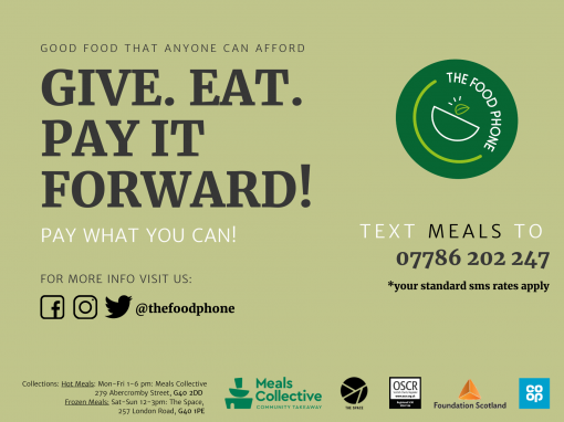 The Food Phone – Eat. Give. Pay It Forward